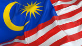 Malaysia Flag — Stock Photo