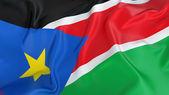 South Sudan flag — Stock Photo