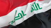 Iraq Flag — Stock Photo
