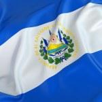 El Salvador Flag — Stock Photo #51206125