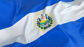El Salvador Flag — Stock Photo