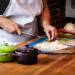 Stir Cooking School — Stock Photo