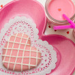 Valentine Decorated Cookies — Stock Photo #33712061