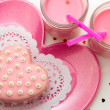 Valentine Decorated Cookies — Stock Photo #33712165