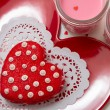 Stock Photo: Valentine Decorated Cookies
