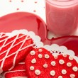Valentine Decorated Cookies — Stock Photo #33713171