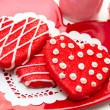 Valentine Decorated Cookies — Stock Photo #33713179