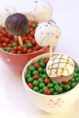 Holiday Cake Pops — Stock Photo