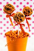 Swirl Cake Pops — Stock Photo