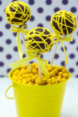 Swirl Cake Pops — Stock Photo