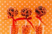 Swirl Cake Pops — Stockfoto