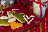 Candy Heart for Santa — Stock Photo