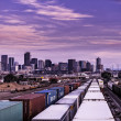 Denver Railways — Stock Photo
