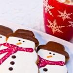 Snowman Cookies — Stock Photo #33815329