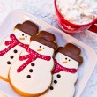 Snowman Cookies — Stock Photo #33815347