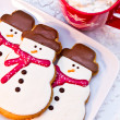 Snowman Cookies — Stock Photo #33815371