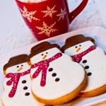 Snowman Cookies — Stock Photo #33815415