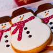 SnowmCookies — Stock Photo #33815441