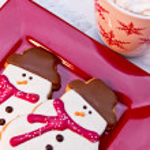 Snowman Cookies — Stock Photo #33815481