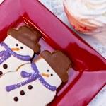 Snowman Cookies — Stock Photo #33815515