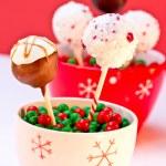 Holiday Cake Pops — Stock Photo #33819039
