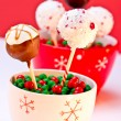 Stock Photo: Holiday Cake Pops