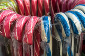 Bastones de caramelo — Foto de Stock