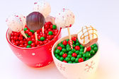 Holiday Cake Pops — 图库照片