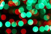 Bokeh de lumières de noël — Photo