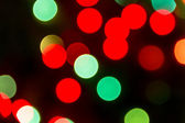 Christmas Lights Bokeh — Stock Photo