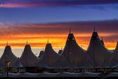 Denver international airport — Stockfoto