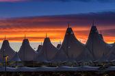 Denver International Airport — Foto Stock