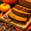 Pumpkin Bread — Stock Photo #34105281