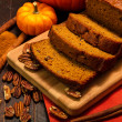 Pumpkin Bread — Stock Photo #34105311