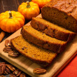 Pumpkin Bread — Stock Photo #34105505