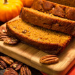 Pumpkin Bread — Stock Photo #34105643