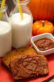 Pumpkin Bread — Stockfoto