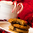 Stock Photo: Cookies for Santa