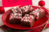Candy Cane Fudge — Stock fotografie