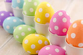 Easter Eggs and Baskets — 图库照片