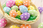 Easter Eggs and Baskets — Foto Stock