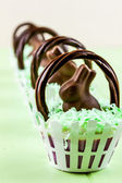 Easter Basket Cupcakes — ストック写真