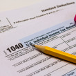 Filing Taxes and Tax Forms — Stock Photo #42565821