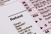 Filing Taxes and Tax Forms — Foto Stock