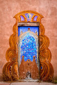 Colorful Doors of Santa Fe, NM — Stock Photo