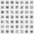 automóvil Iconset — Vector de stock  #33752353