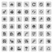 Iconset ecology — Stock Vector