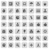 Iconset businnes work — Stock Vector