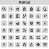 Medical iconset — Stock Vector
