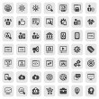 Stock Vector: Iconset seo